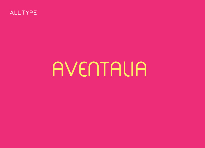 Identidade Visual Aventalia All Type