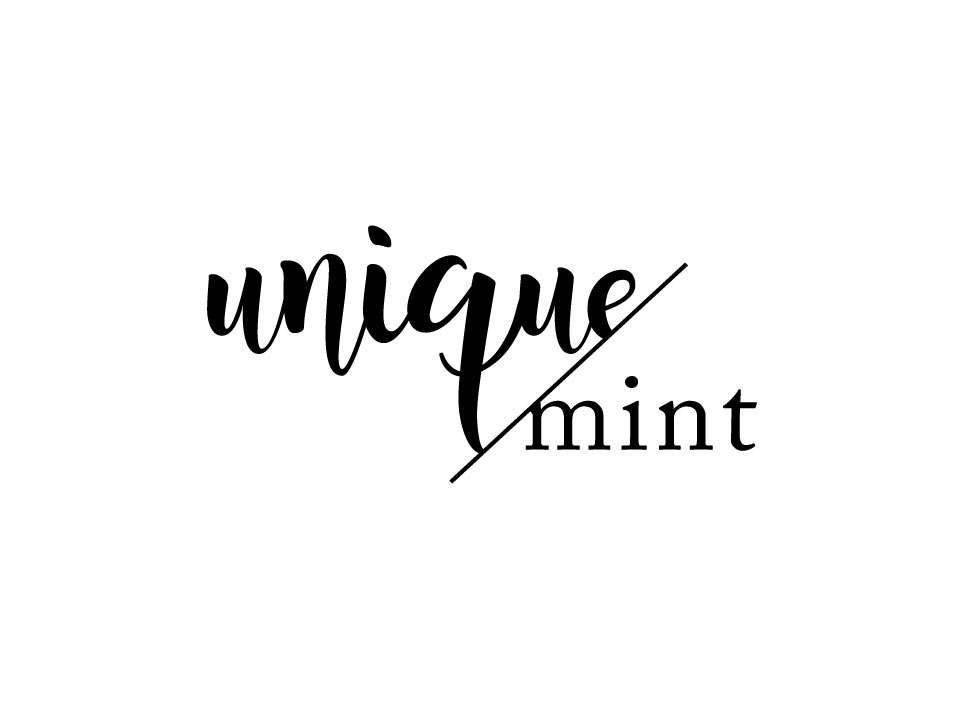 Identidade Visual Fashion da Unique Mint
